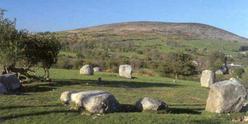 Athgreany Stone Circle: Piper's Stones