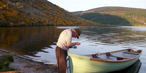 Fishing at Loughdan House