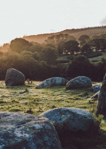 Athgreany Stone Circle: Piper's Stones