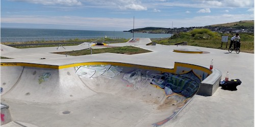 Skate Park & Outdoor Gym – Wicklow Town